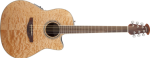 Ovation Celebrity Standard Plus MD Cutaway Natural Quilt Maple
