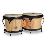 LP Aspire Bongos Natural Wood