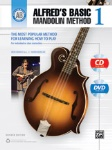 Alfred's Basic Mandolin Method 1 (Revised) Bk/CD/DVD