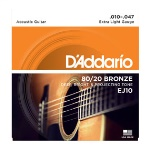 D'Addario 80/20 Acoustic Extra Light