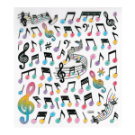 Music Note & Staff Stickers