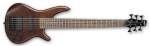Ibanez GIO GSR256B Six String Bass Walnut Flat