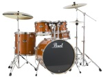 Pearl EXL 5 pc Drum Shell Pack Honey Amber
