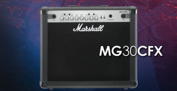 Marshall MG30CFX 30Watt Carbon Fibre Amp w/ Digital FX