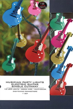 Axe Heaven Musician Party Lights - Electric Single Cutaway Edition