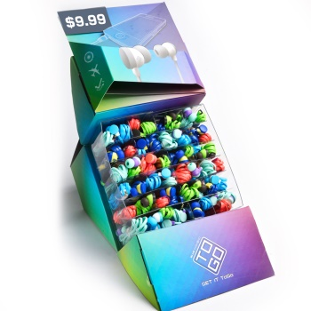 Blue Diamond Sound Isolating Earbuds, PDQ