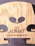 Aubert 3/4 Violin Bridge w/ Ebony Insert